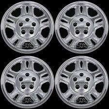 "4 CHROME 07-11 Dodge NITRO 16"" Wheel Skins Hub Caps Center Rim Full Covers New"