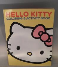 Hello Kitty Coloring Activity Book Brand New Yellow Cover 2012 Hours Of Fun! TC5