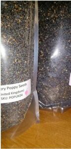 1/2 Pound 8ozs Premium UK Poppy Seeds The Best Pink Dot  brand FRESH Premium