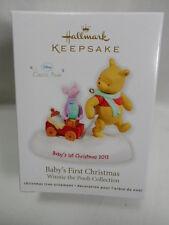 2012 HALLMARK Keepsake Ornament Baby's First 1st Christmas Winnie The Pooh