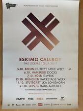 ESKIMO CALLBOY  2017  TOUR ++ orig.Concert Poster -- Konzert Plakat  A1 NEU