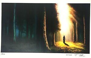 Rare Signed Limited Edition Print Of The Passage Tomislav Tikulin Justin Cronin