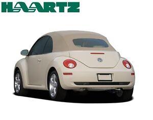 VW Volkswagen New Beetle 2003-09 Convertible Top Cream German Power Top