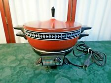 Vintage Oster Controlled Heat Electric Buffet/Cooker/Server w/Lid