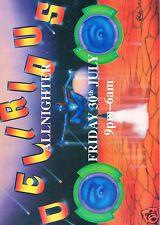 DELIRIOUS Rave Flyer Flyers 30/7/93 A4 Pez Rhythm Station Aldershot Hampshire