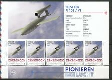 PIONIEREN IN DE LUCHT - FIESELER F1 103 / V1 1941 - PERSOONLIJKE POSTZEGELS