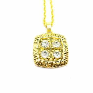 USA Pittsburgh Steelers 1979 Championship Ring Inspired Pendant Necklace