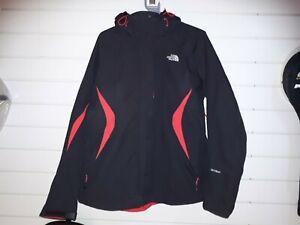 The North Face Ladies Black Hyvent Jacket Sz XL