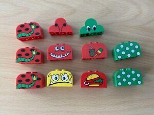 Lego Duplo Sondersteine, 11 Stück, Monster, Steine