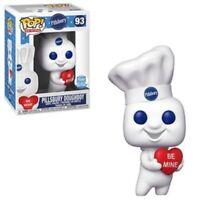 Pillsbury Doughboy Valentine Funko Pop Vinyl New in Mint Box + Protector