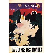 LA GUERRE DES MONDES / WELLS livre de poche TEXTE INTEGRAL Mercure France 1971