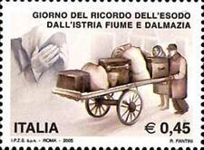 Italia 2005 Giorno del ricordo dell'esodo dall'Istria  MNH