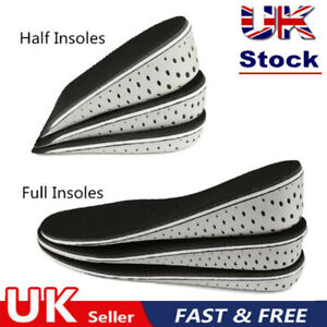 1Pair Insoles Heel Lift Insert Shoe Pad Height Increase Cushions Elevator Taller