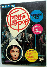 TOP OF THE POPS 1980 Annual BOOK Ken IRWIN Thin LIZZY Black SABBATH The WHO