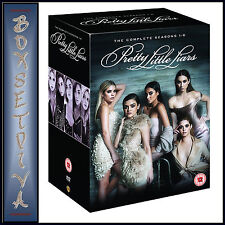 PRETTY LITTLE LIARS - COMPLETE SEASONS 1 2 3 4 5 & 6  *BRAND NEW DVD BOXSET***