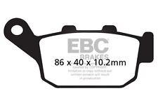 FIT TRIUMPH Daytona 675 Black Monoblock r 09>12 EBC Sintered Pad Set Rear