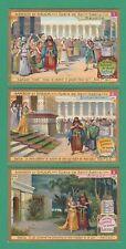 LIEBIG - SET OF 6 CARDS - S 858  /  F 862  - SAMSON & DELILAH  -  1906
