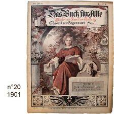 Das Buch für Alle n°20/1901 Illustrierte Familien-Zeitung journaux anciens