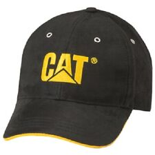 Summit Resource, CAT, One Fits Most, Black, Micro Suede Baseball Cap