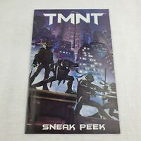 TMNT Teenage Mutant Ninja Turtles Sneak Peek Movie VERY RARE LOW PRINT RUN Comic