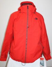 NEW 2017 The North Face Mens GARNER TRICLIMATE Jacket Red 3 in 1 2XL XXL