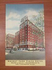 Vintage Walnut Park Plaza Hotel Post Card Philadelphia, PA - Unused