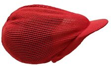 XL Dreadlocks Rasta Mesh Hair Net Hat Red Jamaica Tam Stripped Knitted Dread Cap