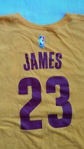 LeBron James # 23 Cleveland Cavaliers NBA T-Shirt 2XL Adidas Brand The Go To Tee
