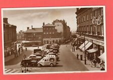 More details for market square hanley motor car rp pc used 1950's valentines ref p810