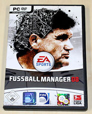 FIFA FUSSBALL MANAGER 08 - PC SPIEL - EA SPORTS 2008