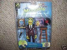 Jim Hensons Muppets Johnny Fiama Purple Metalic Variant