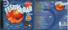 ARTISTI VARI FESTIVALBAR 2004 BLU 2 CD