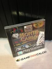 MONTE CARLO PAL PS1 NUOVO SIGILLATO NEW SEALED PLAYSTATION 1 RARO