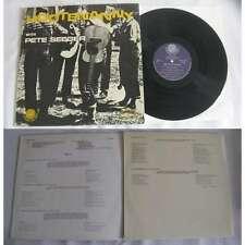 PETE SEEGER - Hootenanny With Pete Seeger LP Folk Rock Folkways Label