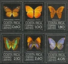 COSTA RICA PAPILLONS INSECTES BUTTERFLIES INSECTS SCHMETTERLINGE ** 1979 40€