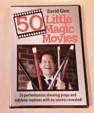 Magic DVD- 50 Little Magic Movies by David Ginn