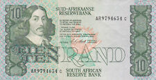 10 RAND  VERY FINE BANKNOTE FROM SOUTH AFRICA 1978-93 PICK-120