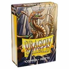 Dragon Shield Japanese Size Matte Copper 60ct Card Protector Sleeves ATM11116