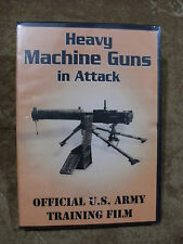 Heavy Machine Guns in Attack Official U.S. Army Training Film DVD 30 min -Sealed