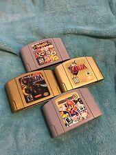 Super Smash Bros, Mario and Zelda N64 Games w Free Shipping!