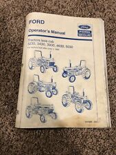 New Holland Ford 3230 3430 3930 4630 5030 Tractor Operators Manual