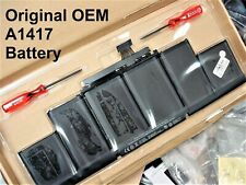 NEW Genuine OEM Battery for MacBook Pro 15 Retina A1398...