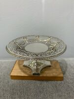 Antique English Sterling Silver Lionel Alfred Chricton Bros. Centerpiece Compote