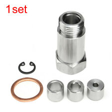 O2 Oxygen Sensor Restrictor Fitting w/ Adjustable Gas Flow Inserts Cel Fix Top