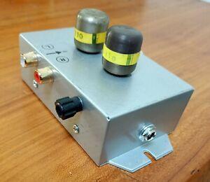 2 x Siemens-Haufe T110 MC step up Moving coil transformer,Stereo
