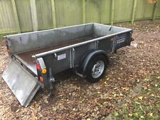 Ifor Williams GD84 single axle trailer 1284kg fully working recent brakes no vat