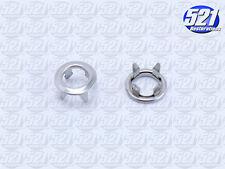 Mopar Stainless Door Lock Ferrules Trim Ring 68-70 SuperBee GTX RoadRunner