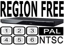 Panasonic All Region Code Free DVD Player! Plays PAL NTSC Disc DVD-S500