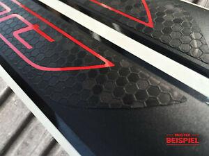 Einstiegsleisten 4 Türen Sport Folie Schutzfolie Wunschtext Modellbezeichnung