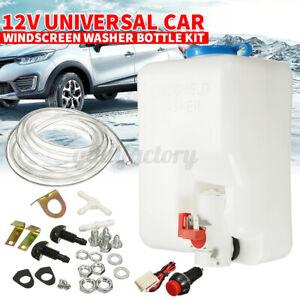 Universal Windscreen Washer Bottle Kit Pumper Jet For VW Classic MINI 160186 12V